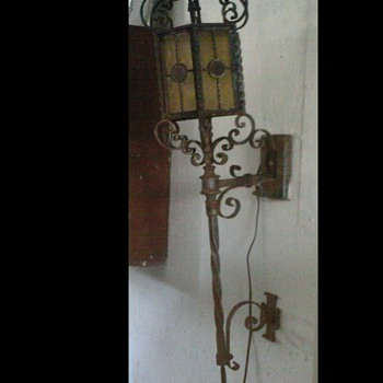 Italian Outdoor Wall Lamp