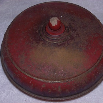 STORAGE TIN OR BOWL