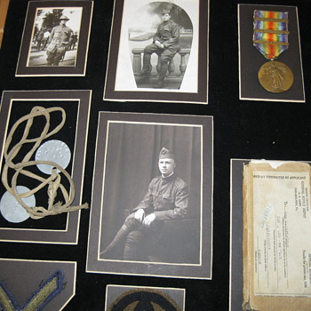 WW I  89th Div. 353rd Infantry - Military and Wartime