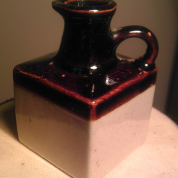 square mini jug - Art Pottery