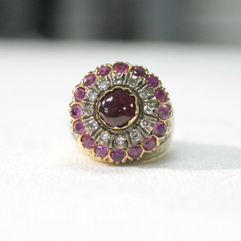 IT'S A SPINNER!  Diamonds, Ruby's, Gold and Spinel - Fine Jewelry