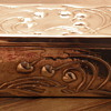 Solid Silver ART NOUVEAU Box.  London Hallmarks