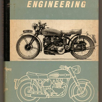 """Motorcycle Engineering"" by P.E. Irving (1962) - Books"