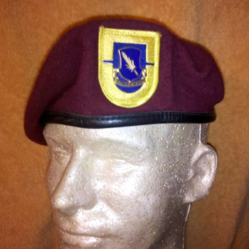 504th Airborne Infantry Beret, 82nd Division - Military and Wartime