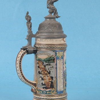 WW1 Regimental Stein - Military and Wartime