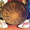 Native basket in NH museum