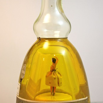 Holland Bols Ballerina Musical Liqueur Bottle