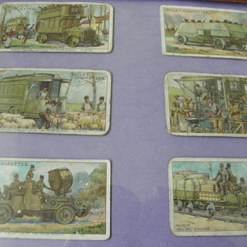 British Cigarette Cards - Tobacciana