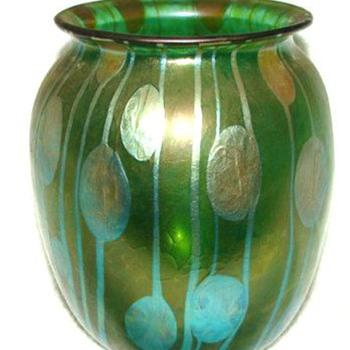 LOETZ  STREIFEN UND FLECKEN c. 1900 - Art Glass