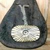 Carved deer horn netsuke