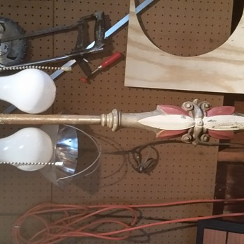 flea market find...vintage floor lamp