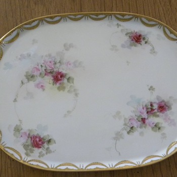 Old platter - China and Dinnerware