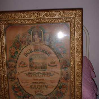 Lords Prayer Print