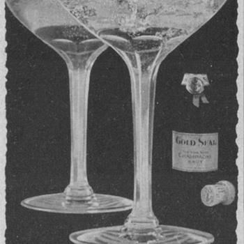 1955 Gold Seal Champagne Advertisement - Advertising