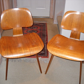 Vintage Charles Eames Chairs -Childhood Memories - Furniture