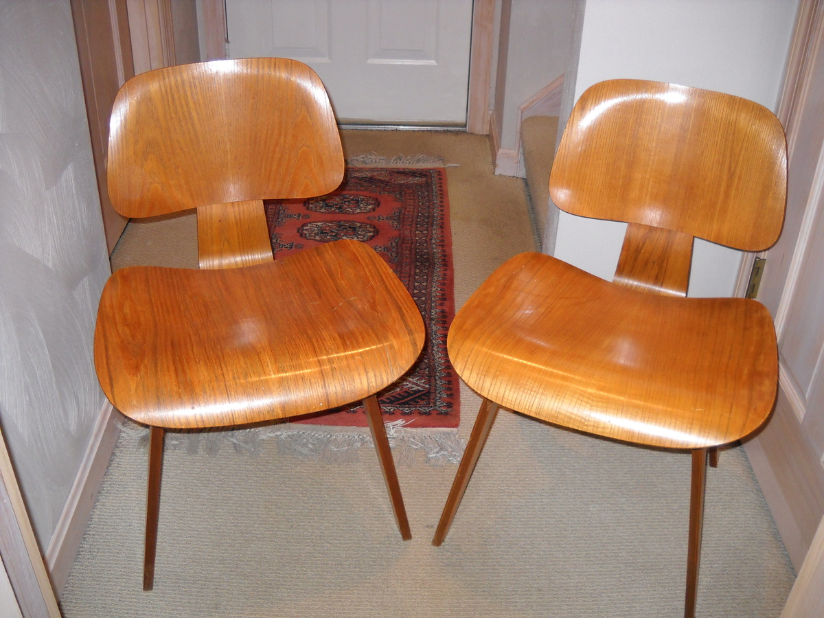 Vintage Charles Eames Chairs Childhood Memories