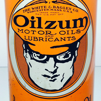 Oilzum - 1 US Quart - Oil Can - Petroliana