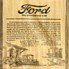 1921 Ford Truck Newspaper Ad...