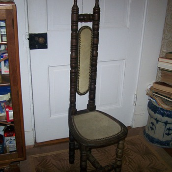 Nice Vintage Tall Boy Chair?