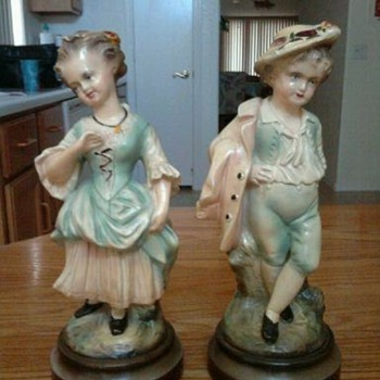 Mystery Statues - Art Pottery