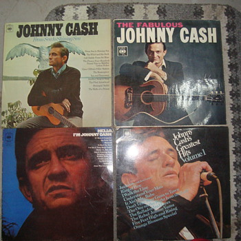 rolling stones/johnny cash - Records