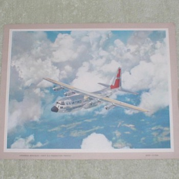 Lockheed Hercules C-130A Print
