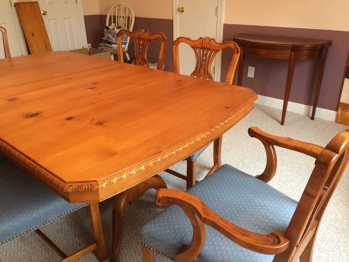 amazing mid century dining table and buffet collectors weekly. Black Bedroom Furniture Sets. Home Design Ideas