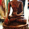Buddha Statue  13 inches tall, 9.6 pounds, from India, I think