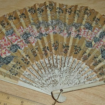 Help with old hand fans - Accessories