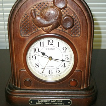 60th Anniversary Mickey Mouse Alarm Clock - Clocks