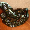 Horse RARE glass, see 2 horses???