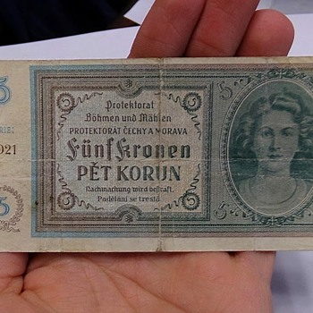 German Occupation Money