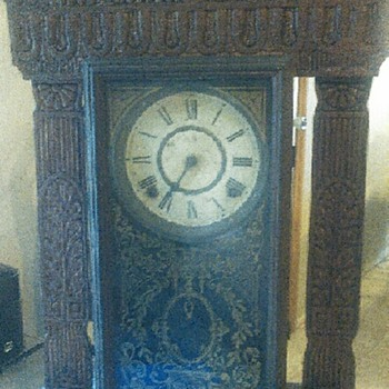Old Clock. E Ingraham
