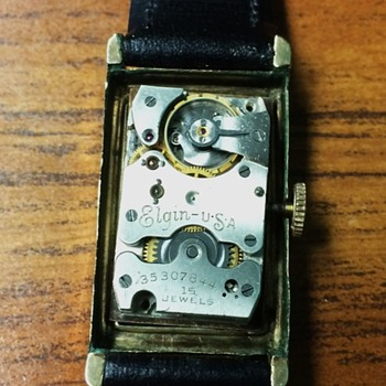 Elgin Deco Era Watch - Wristwatches