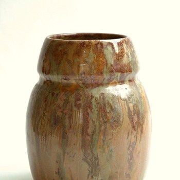 small flambé pottery by LEON ELCHINGER