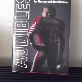 Audibles My Life in Football by Joe Montana and Bob Raissman Book  - Football