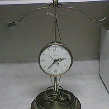 SCALES OF JUSTICE CLOCK - Clocks