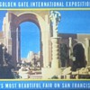 1939 Golden Gate International Exposition Fold-Out Postcard