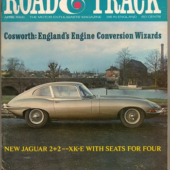 1966 - Road & Track Magazine (Jaguar 2+2)