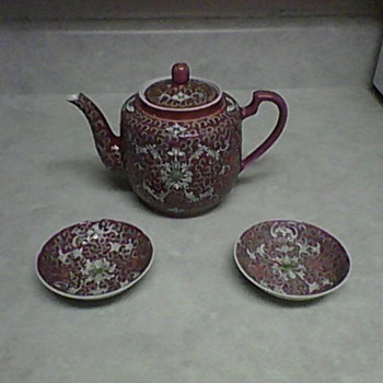 CHINESE TEA POT - Asian
