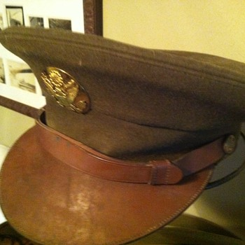 WWII US Army enlisted man's hat.