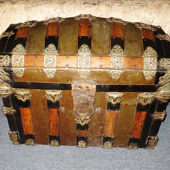 1886 Romadka Bros. Trunk - Furniture