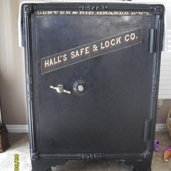 Hall's Denver & Rio Grande R'W'Y Safe - Office