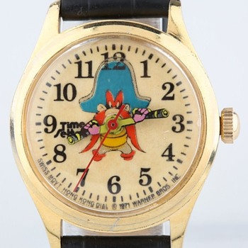 1971 Time Setters Yosemite Sam wristwatch