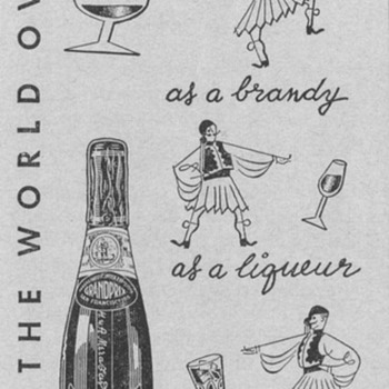 1955 Metaxa Liqueur Advertisement - Advertising