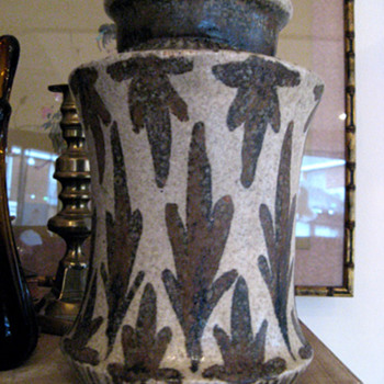 Salt glazed Pottery Vase - Art Pottery