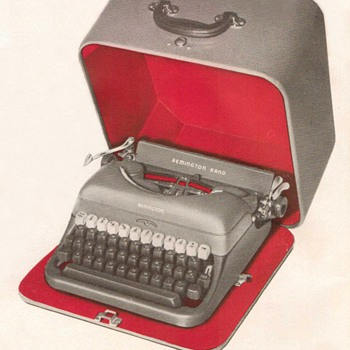 1948 - Remington Rand Typewriter Advertisement - Advertising