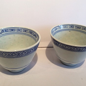 Chinese tea cups ? - Asian