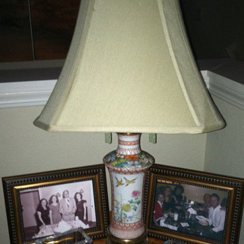 My first lamp project - Antique Chinese Vase Lamp