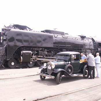 Union Pacific Steam Locomotive No. 844 - Railroadiana